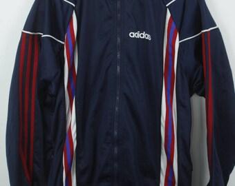Vintage jacket, 90s Adidas, vintage ADIDAS, track jacket, 90s windbreaker