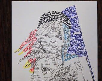 Les Miserables Word Art