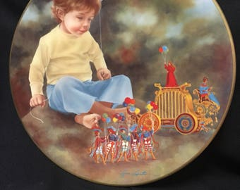 Lynn Lupetti, Fantasy Festival, The Magic People, collectors plate, 1982