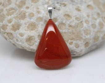 RED JASPER PENDANT  - Handcrafted -  No Chain Included - Free Shipping