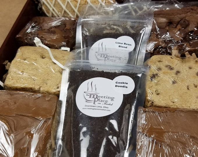 Gluten Free Birthday Gift Basket, Chocolate Chip GF Bars, Butterscotch Bars, GF Dark Chocolate Brownies, Thank You Gift, Gluten-Free Gift
