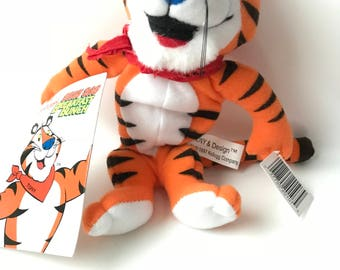 1997 Kellogg's Tony the Tiger Plush Toy with Tags
