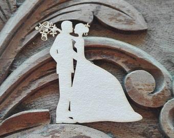 Cardmaking Supplies, Scrapbook Embellishments, Chipboard Die Cut,  Laser Cut Embellishments, Wedding Invitations DIY, Invitations die cut