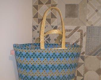 Straw Bag- Portuguese straw grocery bag - Straw market bag- Straw basket