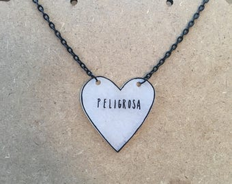 Peligrosa : Heart-Shaped Necklace
