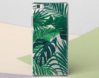 Xiaomi Mi5 Case Tropical Leaves Sony Z5 Case Htc M9 Motorola Nexus 6 Case Motorola X3 Case HTC M8 Case LG G5 Case Google Pixel Clear CGCP117