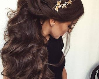 GRECIAN GODDESS Gold DOUBLE Headband/Greek Roman Theme/Bridal Headpiece/Wedding Headband, Bridal Hair Accessories, Hair Accessories Wedding
