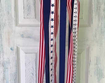 Red, White and Blue Nautical Mobile