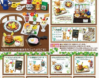 Re-ment  Pikachu Coffee Shop Collection 8 Box Set Miniatures Figure Collections - Pokemon Monster