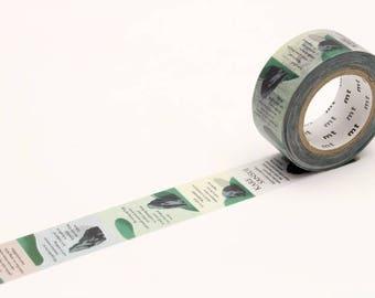 MT Ex Dry Landscape Garden Washi Tape, MT Masking Tape