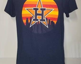 Houston Astros T shirt - Houston logo -