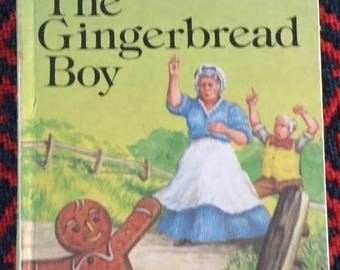 Vintage Ladybird Book-The Gingerbread Boy
