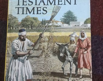 Vintage Ladybird Book - The Life in New Testament times