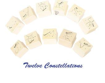 Twelve Constellations Stamps/ Seals, Creative