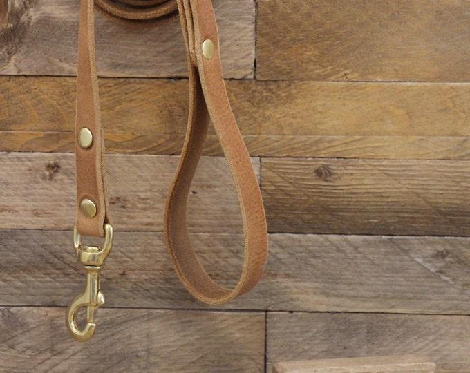 Dog leash, Leather dog leash, Pet gift, Walk  leash, Leather lead, Lead, Solid brass hardware, Handmade leather leash,Dog collar.