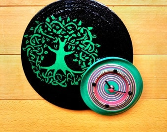 Recycled paper tree of life watch