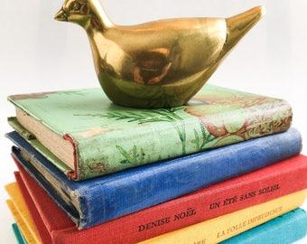 Vintage brass bird.