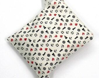 10 % off [ orig. 12.99 ] Anchor Wet bag, swim suit bag, Bikini bag, Diaper, Bathing suit bag, wet dry bag, Cosmetic bag, Travel bag, Gift
