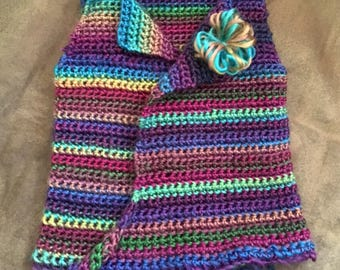 Hand Crocheted Baby Sweater Vest