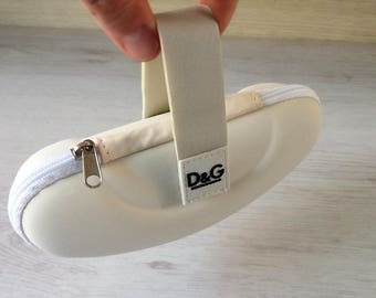 Ivory D&G glasses case vintage