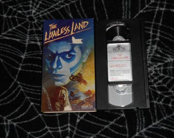 The Lawless Land (1989, VHS) Horror Science Fiction Sci-Fi Futuristic Fantasy