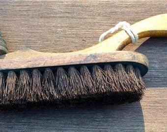 Vintage Two-headed Shoe Shine Brush