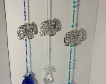 Elephant sun catchers