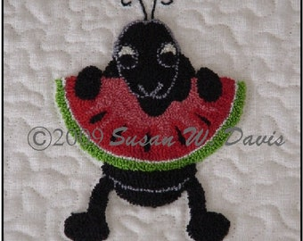 Susie's Table Toppers, Quilting and Punch Needle Designs