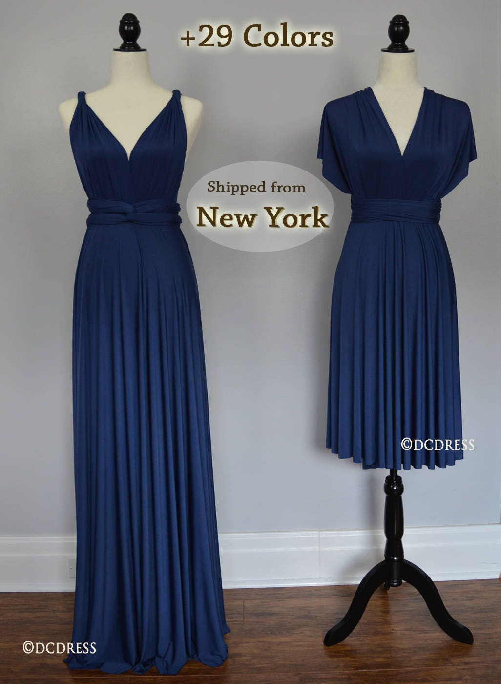 Midnight blue honeymoon dress infinity dress ball gown zoom ombrellifo Images