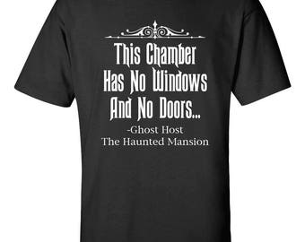 The Haunted Mansion Ghost Host Quote T-shirt