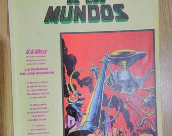 Comic book of the war of the worlds of Editorial vertex of 1981