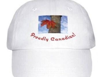 Baseball Cap - Proudly Canadian!
