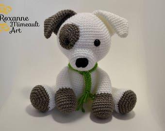 Dog, puppy amigurumi crochet toy