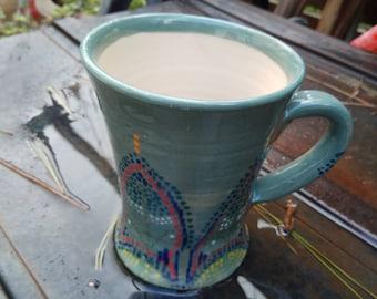Ceramics mug, Tea mug, Coffee mug, juice mug, mother gift, Unique mug, Pottery mug, gift Birthday,