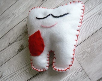 Tooth Fairy pillow, tooth fairy, tooth fairy pouch, tooth pillow, tooth fairy cushion, tooth holder,  decorative pillows, baby shower gift