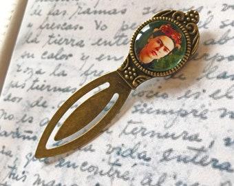 Frida Bookmark - Frida Gift, Art Bookmark, Gift For Feminist, Art Lover Bookmark, Vintage Gift For Artist, Feminist Gift, Art Teacher Gift