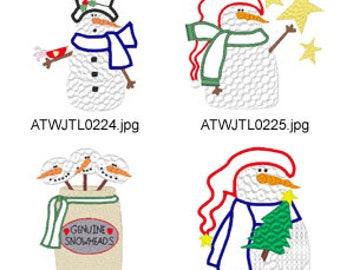 Snow-Thyme  ( 11 Machine Embroidery Designs from ATW ) XYZ17K