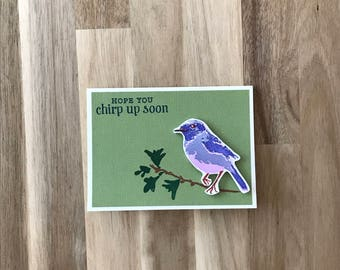 Chirp Up Soon Greeting Card
