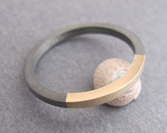 Black And Gold Ring For Men Unique Rings Rustic Wedding