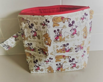 Mickey Mouse Project Bag