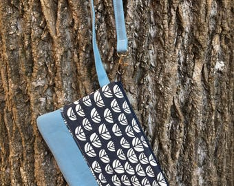 Small Katrina Pouch, Blue Sproutlet