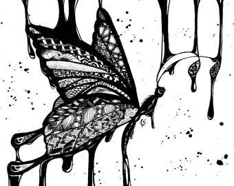 Zen Swallowtail - Limited Print