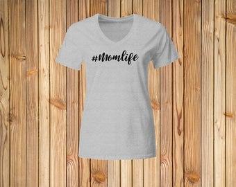 Momlife shirt, Mom Shirt,  #Momlife shirt, hashtag mom, woman shirt, heart tshirt, Mommy shirt, ladies shirt, mom tee, boss shirt, wife tee