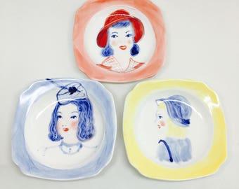 Girls Mini Plates