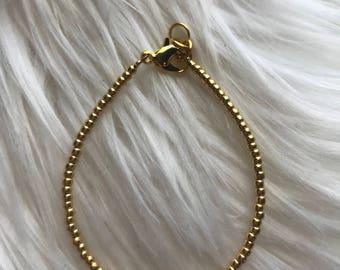 Gold Stacking Bracelet