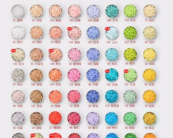 5mm H-Series (152 Colors) -  High Quality Perler Beads Refill (Color No. : D1 to D8)