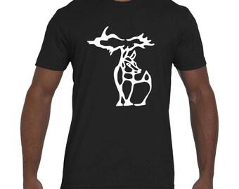 Michigan-Deer T-Shirt (unisex)