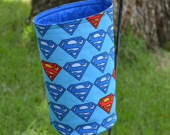 Superman Trash Bin - Large