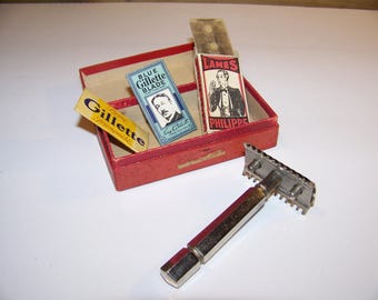 The 30's open comb Safety razor - 30's Mechanical Dry Shaver