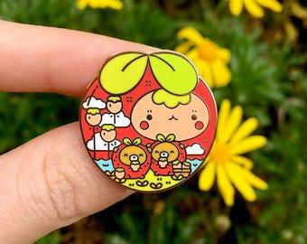 B-Grade Strawbearryarium Pin